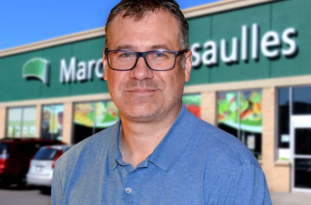 Mario Lebrun, propriétaire Marché Dessaulles
